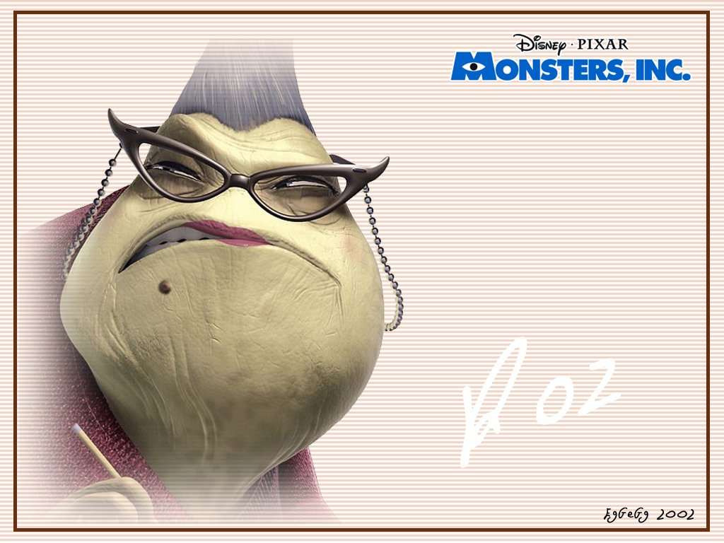 Uncategorized Roz From Monsters Inc monsters inc wallpaper collection boo 1024 x 768